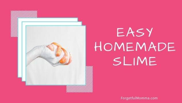 Easy, Homemade Slime