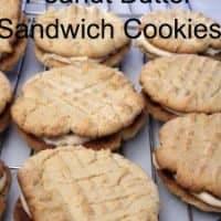 Peanut Butter Cookie-Sandwich