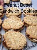 Peanut Butter Cookie Sandwich