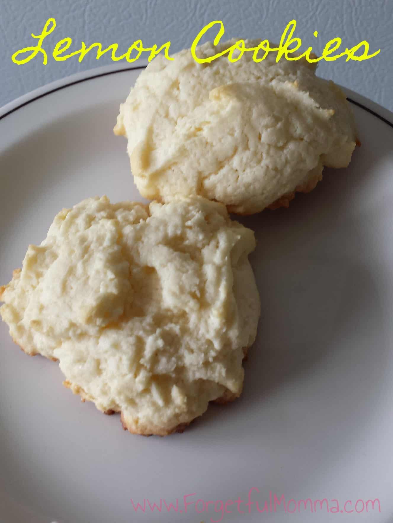 Oh So Good Lemon Cookies