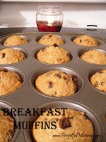 Easy to Make Breakfast Muffins
