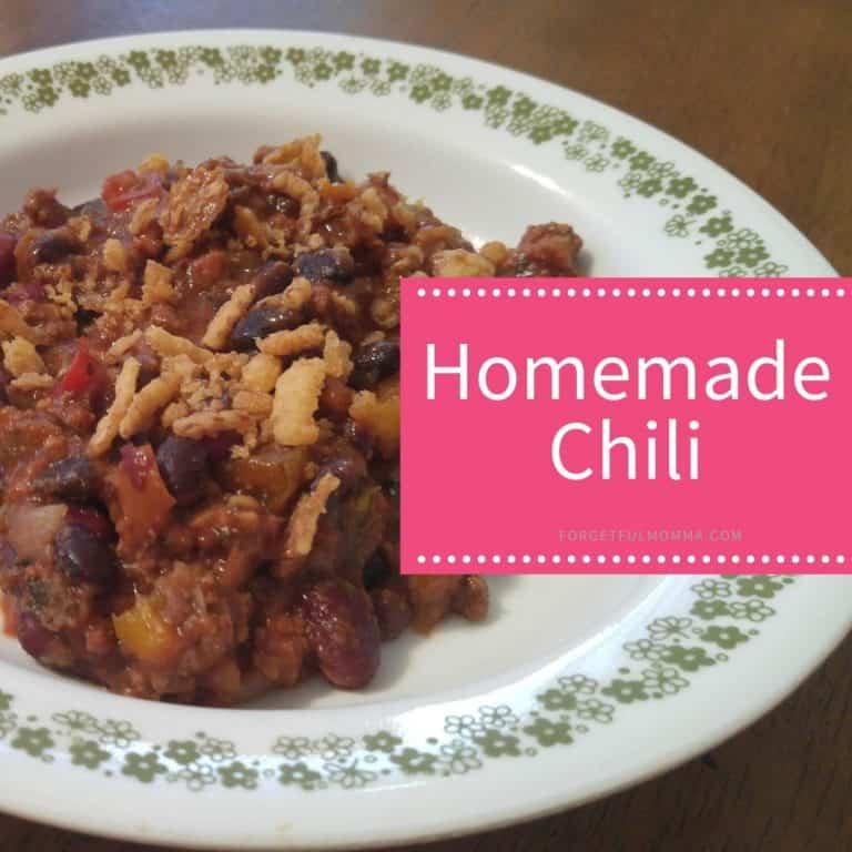 Homemade Chili Mix
