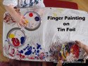 Painting Tin Foil – New Texture