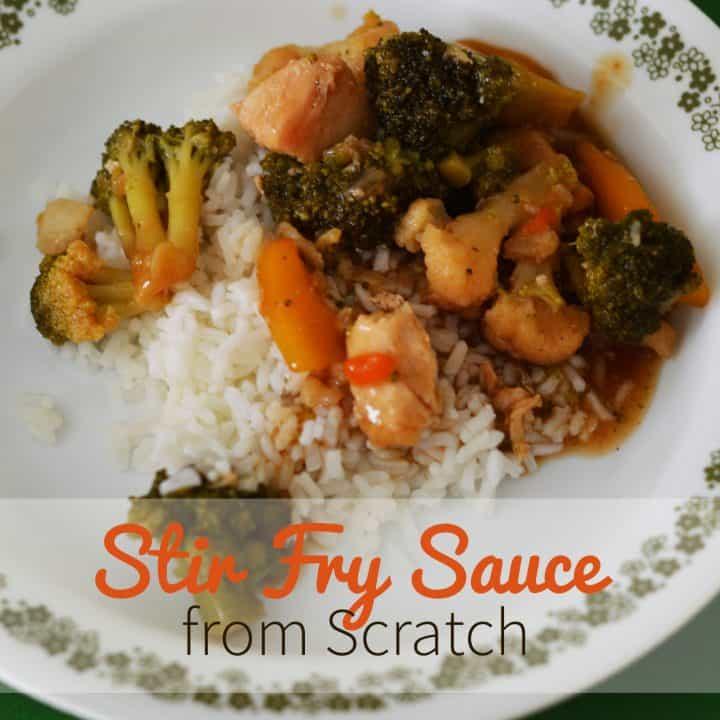 stir fry from scratch