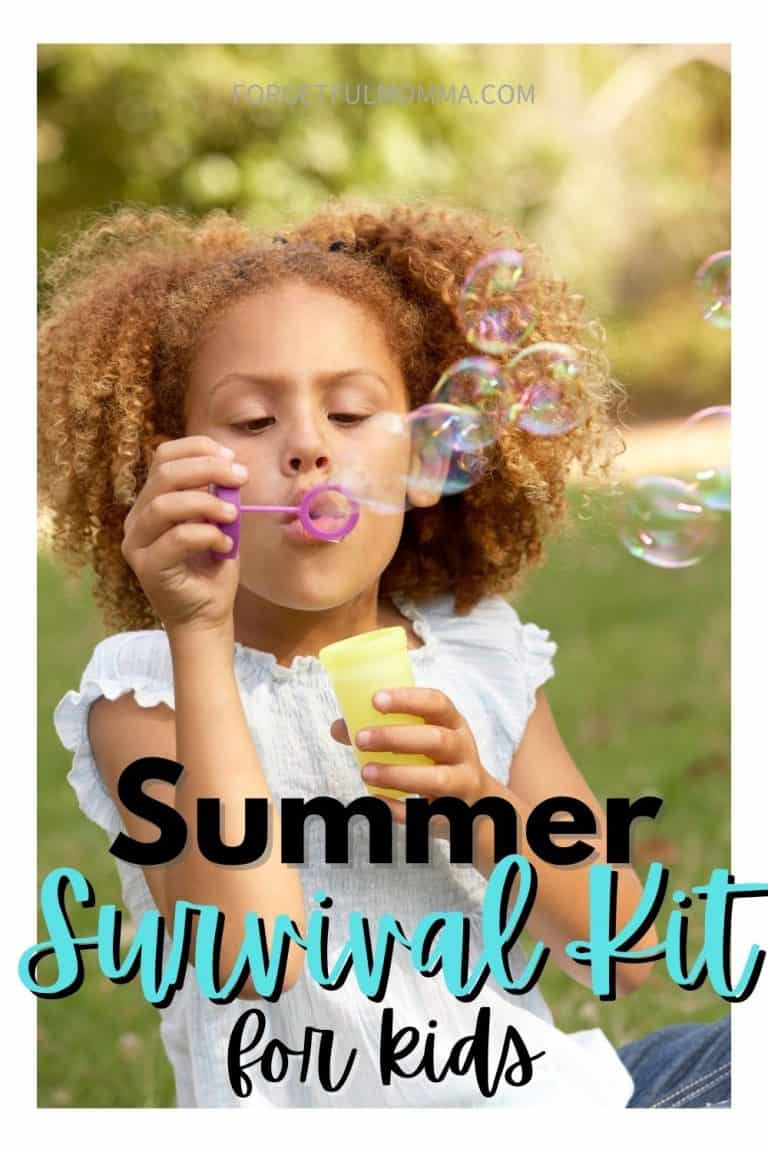 Summer Survival Kit for A Summer at Home