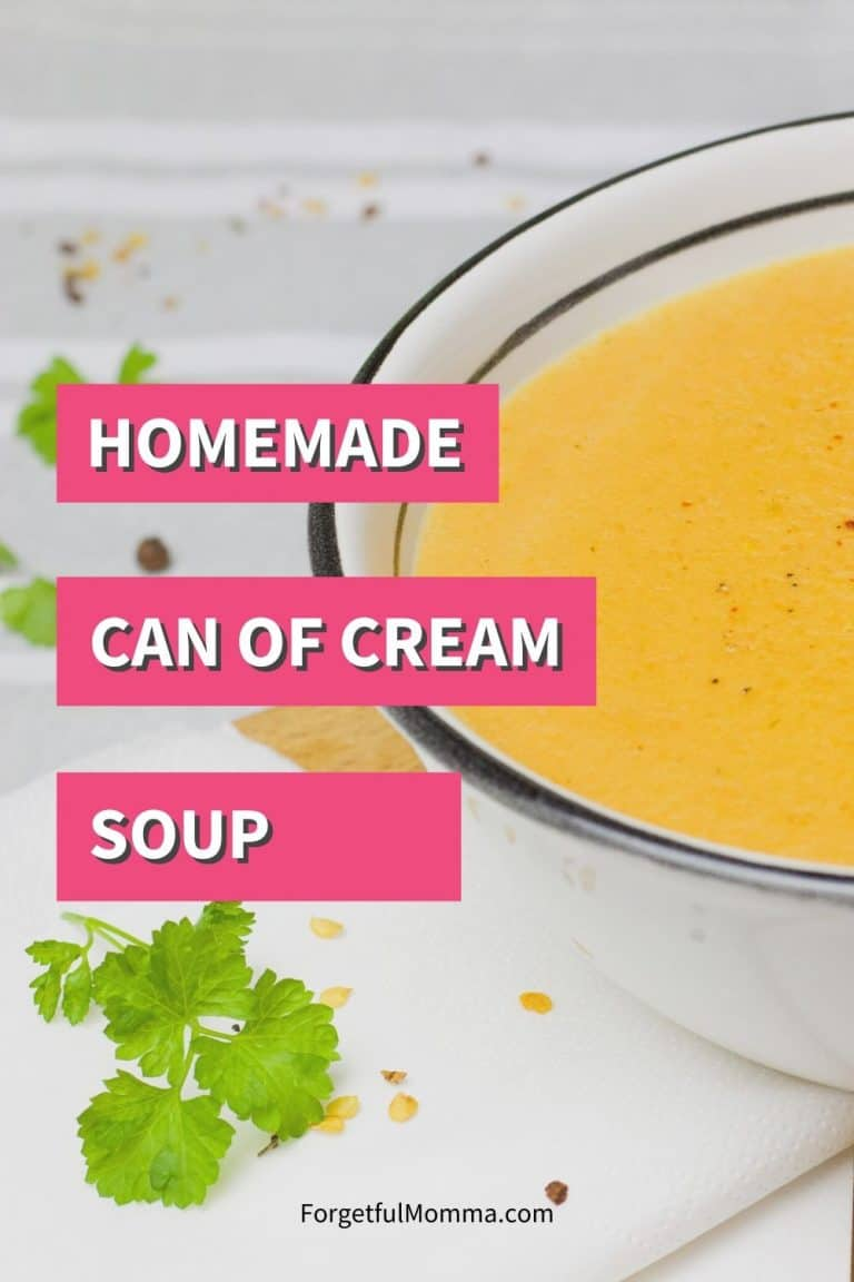 Homemade Can of Cream Soup