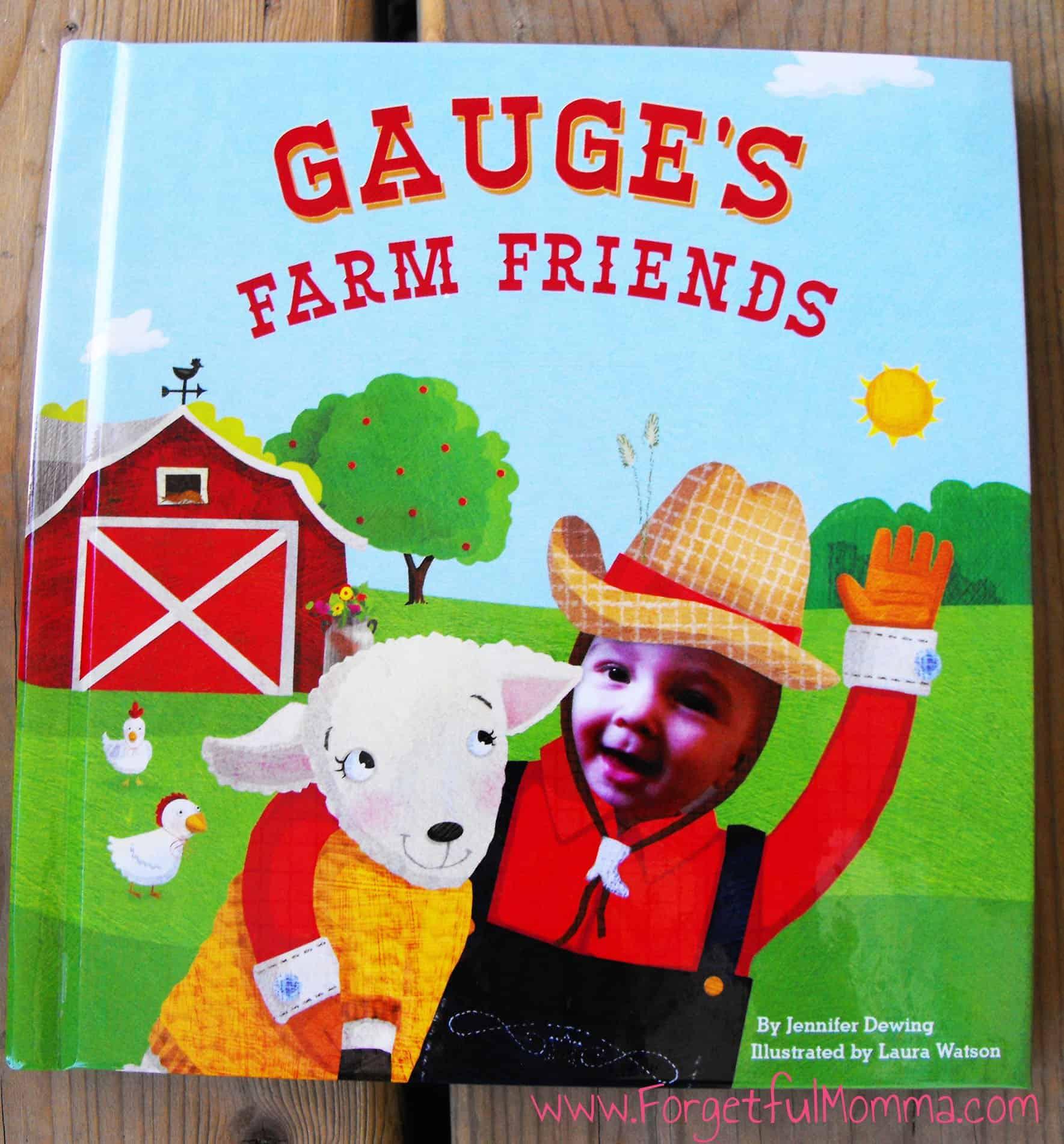My Farm Friends Personalized Book – ISeeMe
