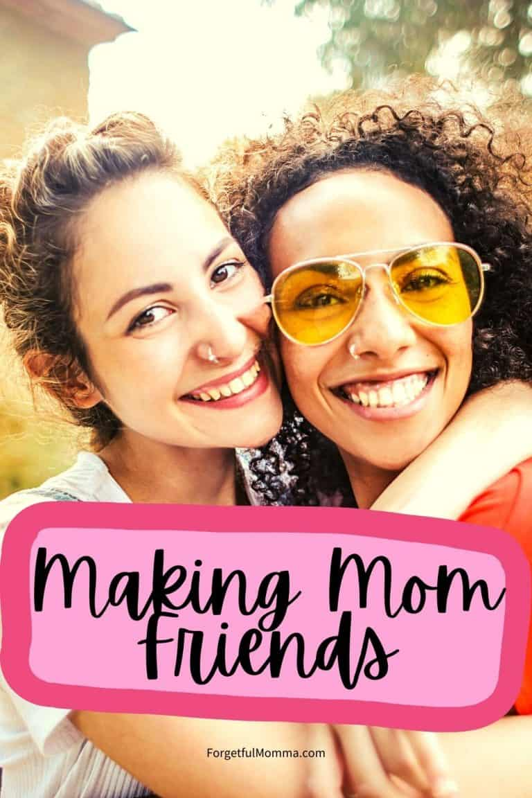 Making Mom Friends in a New Area