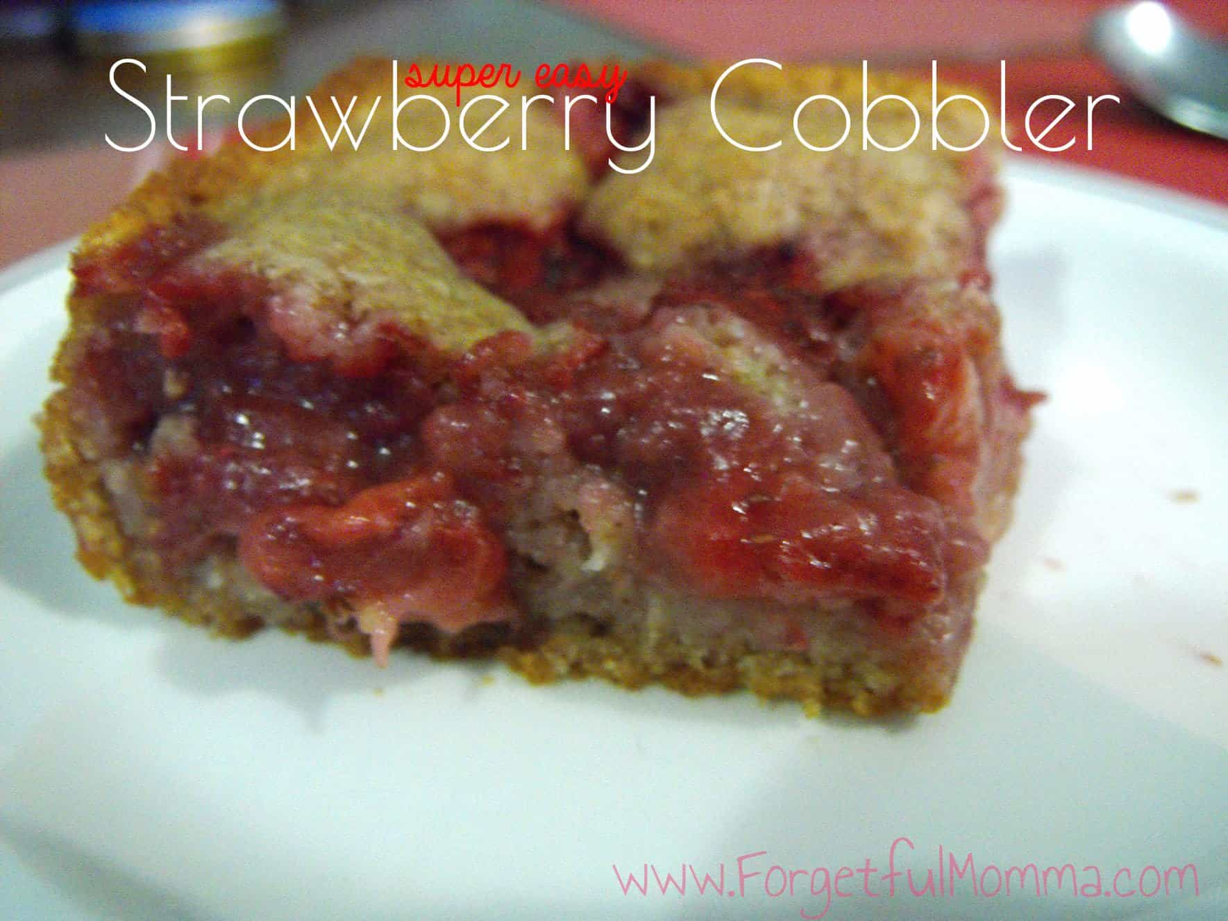 Tasty Strawberry Cobbler