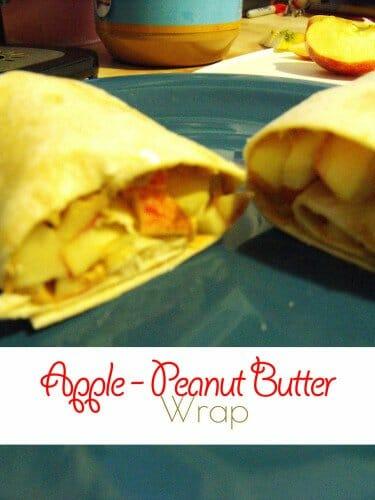 Apple – Peanut Butter Wraps