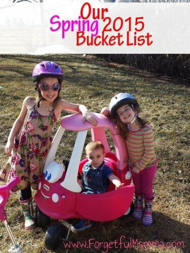 Spring Bucket List 2015