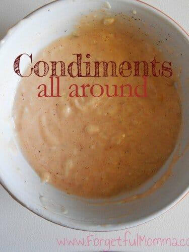 Condiment around up
