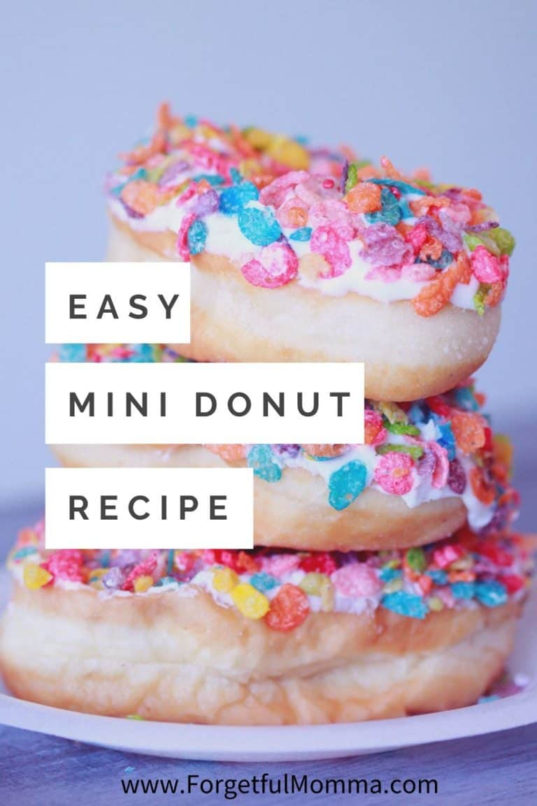Simple Mini Donuts Maker Recipe