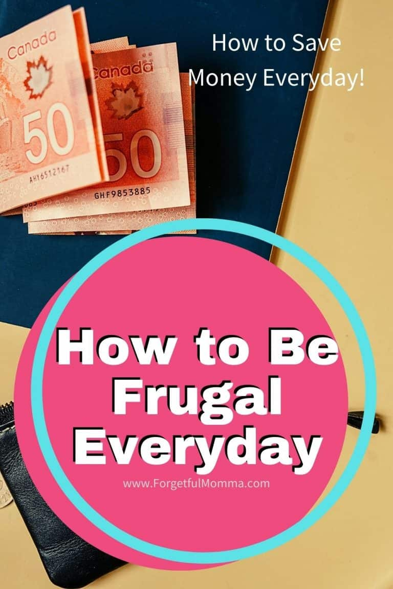 How to Be Frugal Everyday