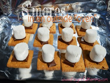 S'more in a Solar Oven