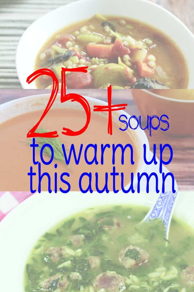 Soups for Autumn's Cold Weather