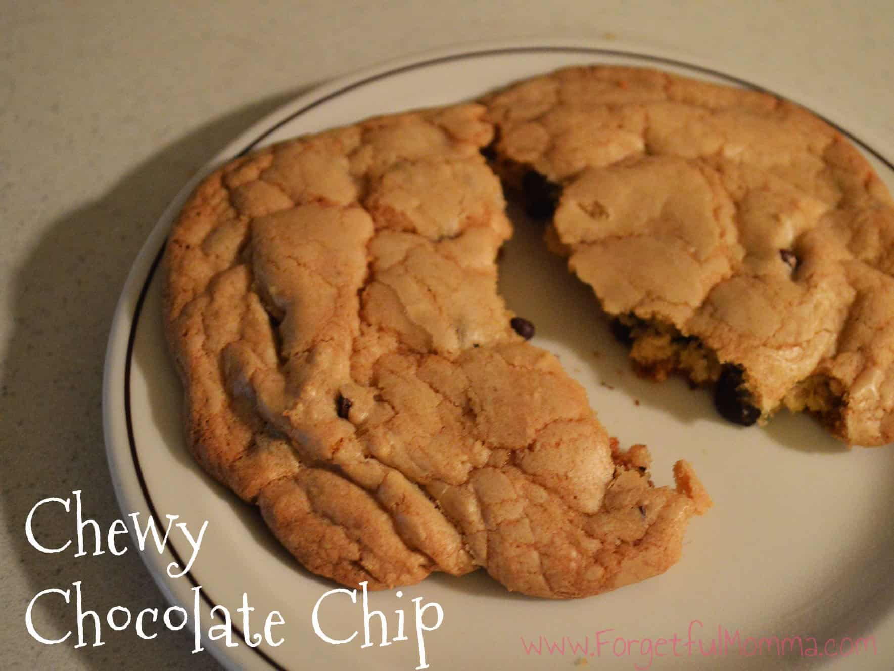 Chewy, Chocolate Chip Cookies