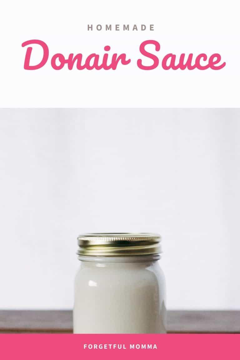 Easy Homemade Donair Sauce