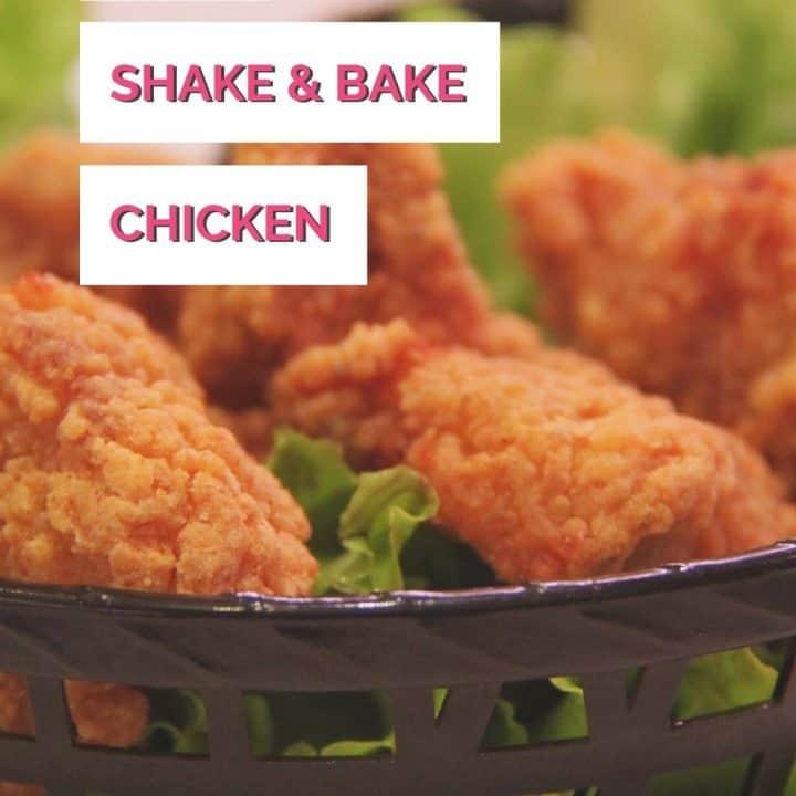 homemade shake and bake chicken tenders