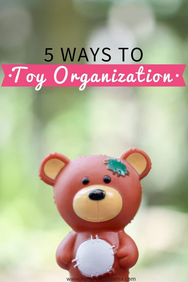 5 Ways to Toy Organization