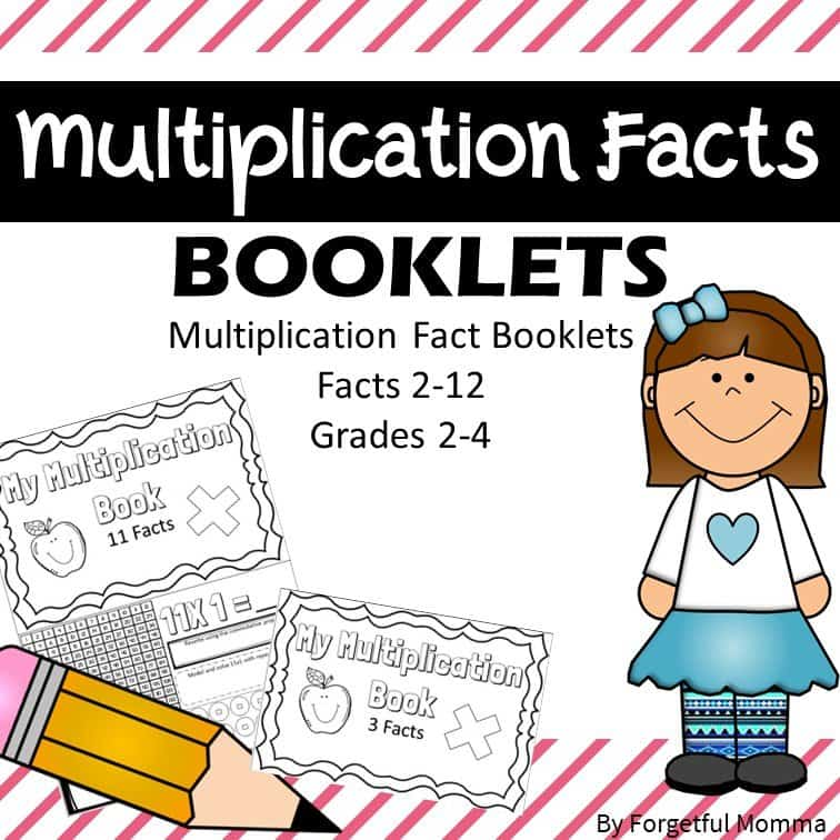 Multiplication Facts Booklets