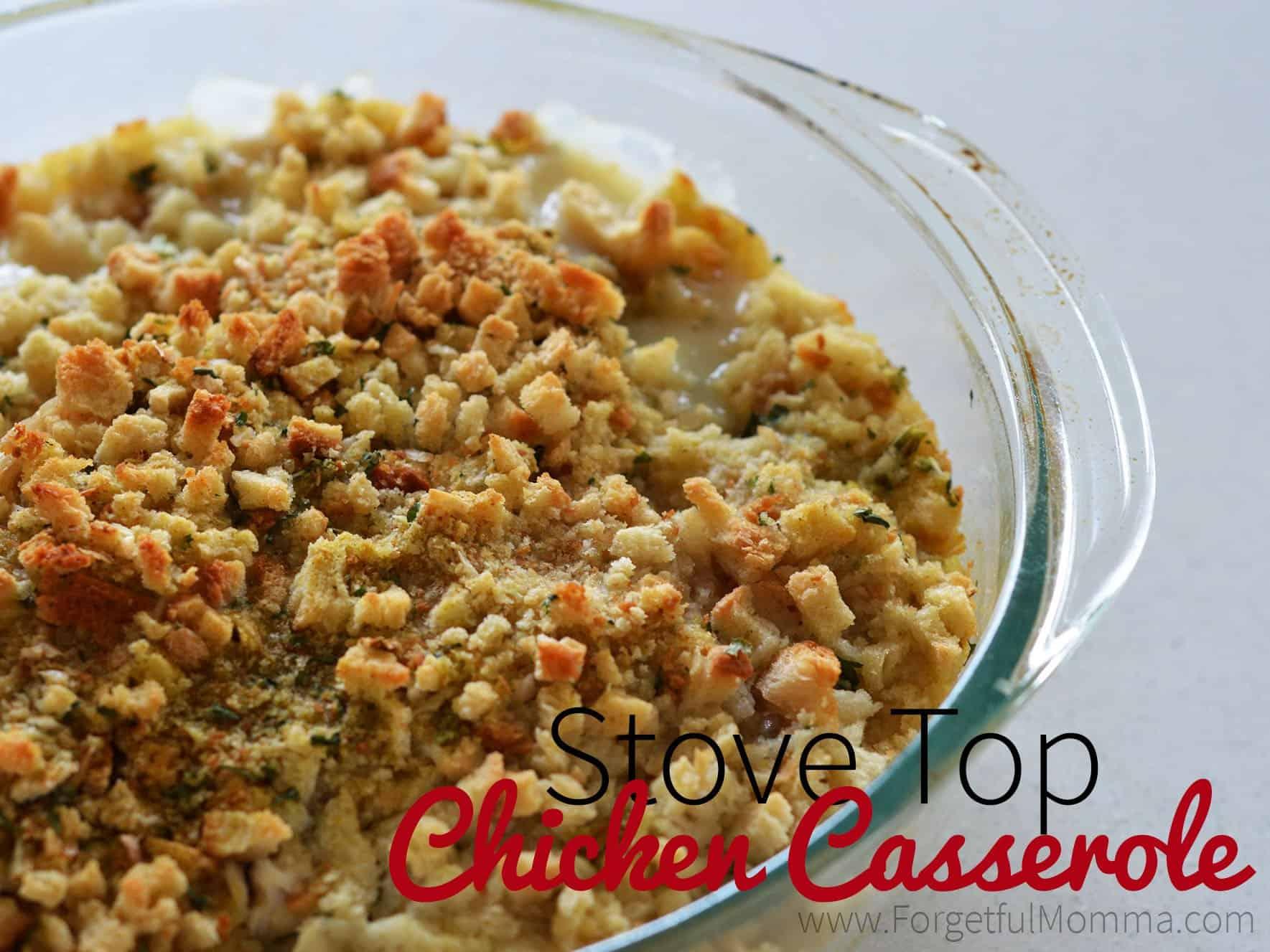 Stove Top Chicken Casserole