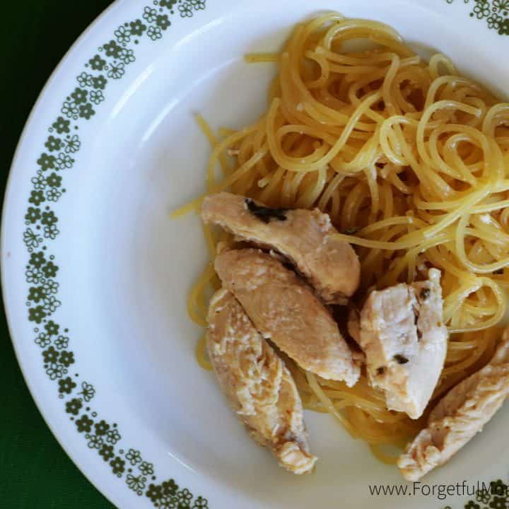 Honey Lemon Spaghetti