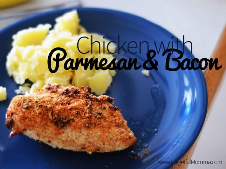 Chicken with Parmesan & Bacon