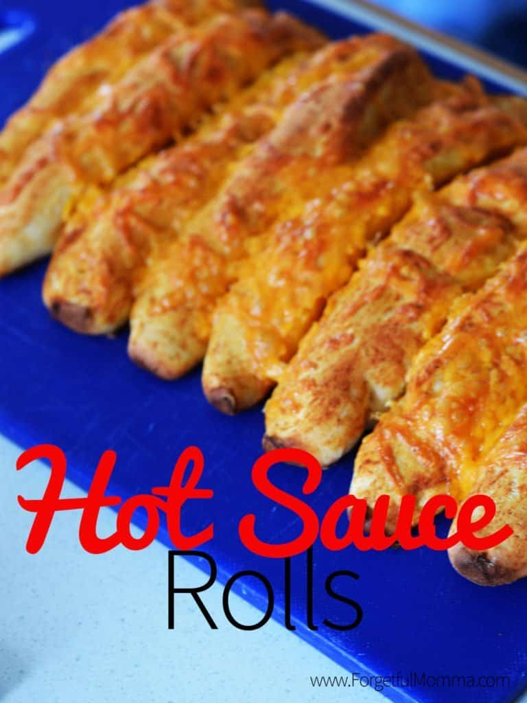 Homemade Hot Sauce Rolls