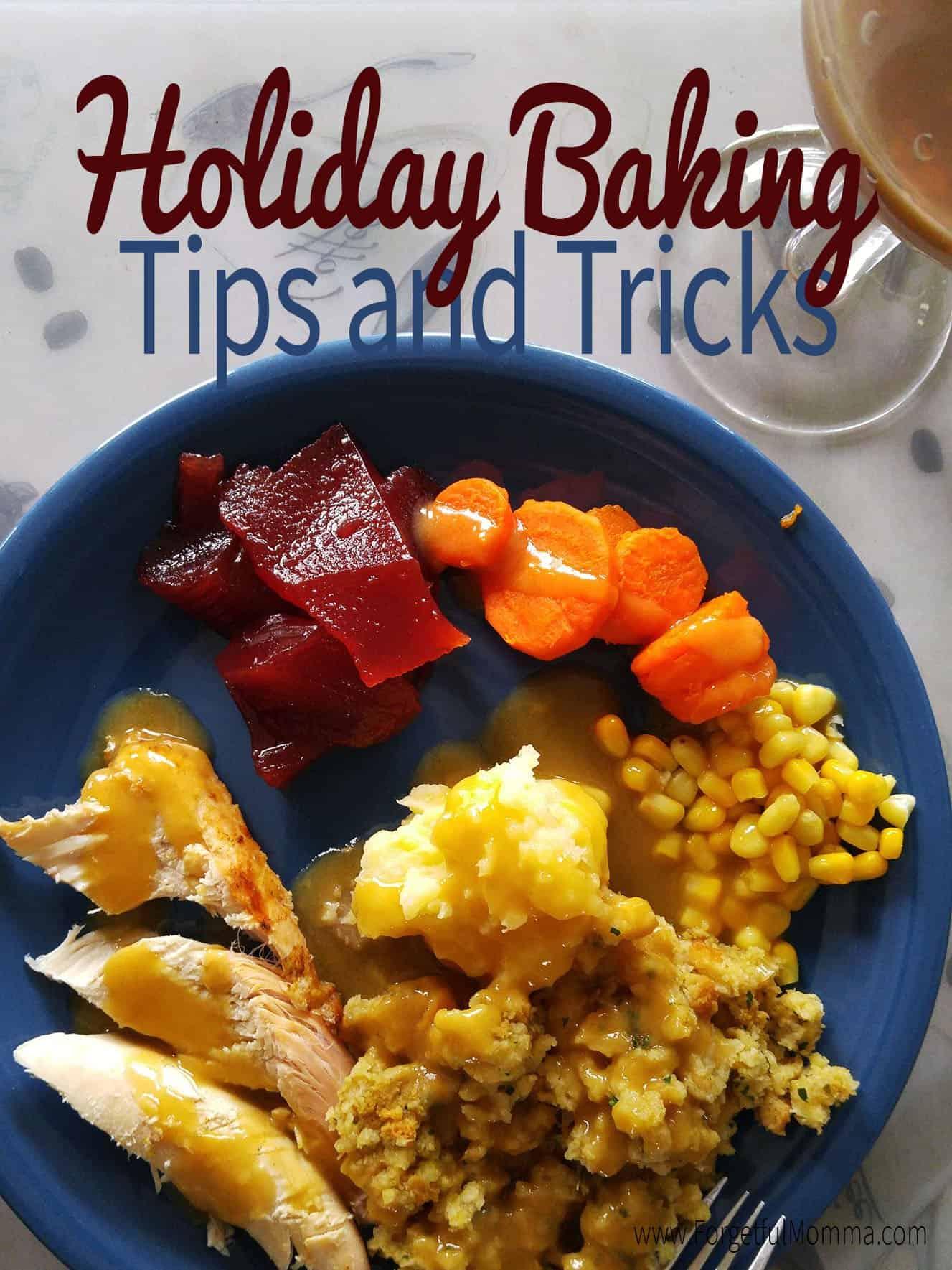 Holiday Baking Tips and Tricks