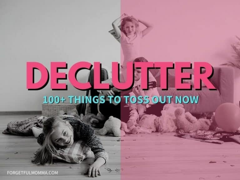 Clutter: 100+ Things to Toss Out Now