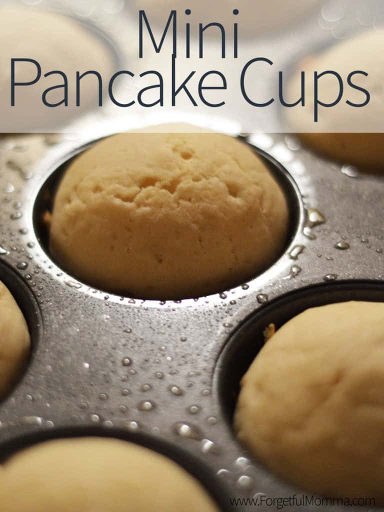 Mini Pancake Cups for Breakfast