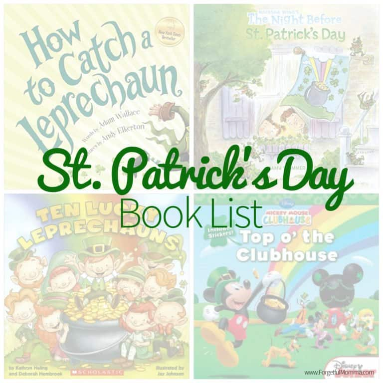 St. Patrick's Day Book List