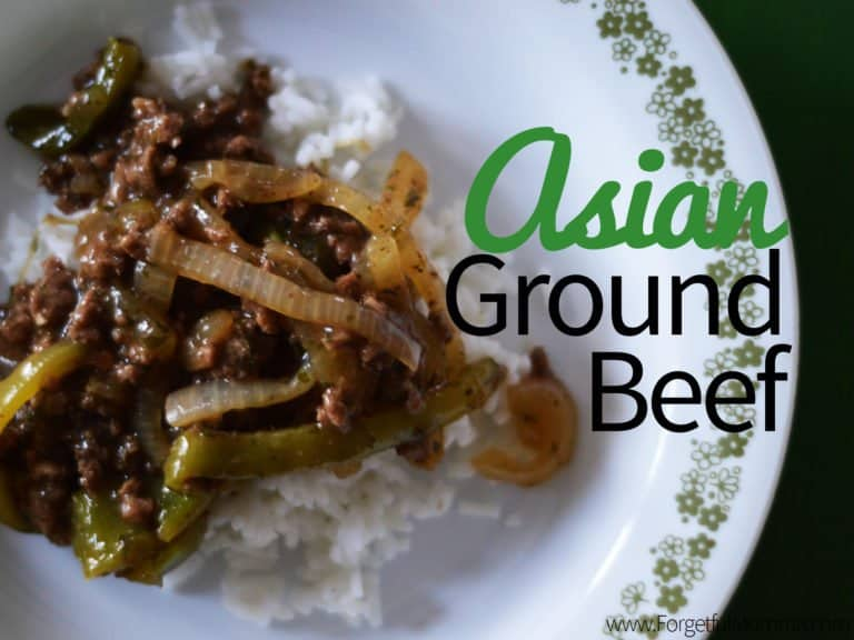 Asian Ground Beef Ready in 30 Minutes