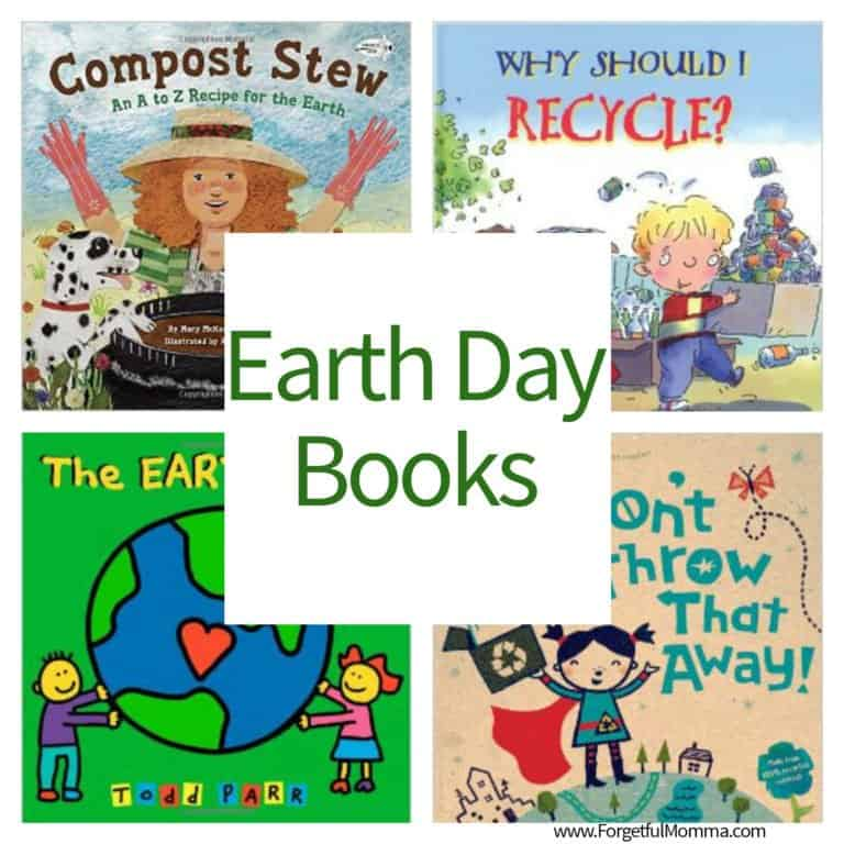 Earth Day Books to Learn About Saving Our Earth