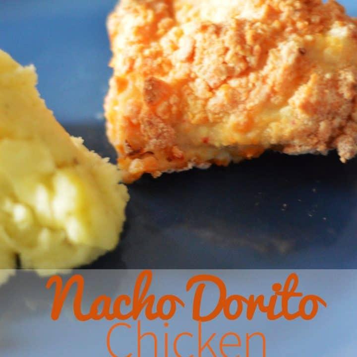 Nacho Doritos chicken - baked recipe