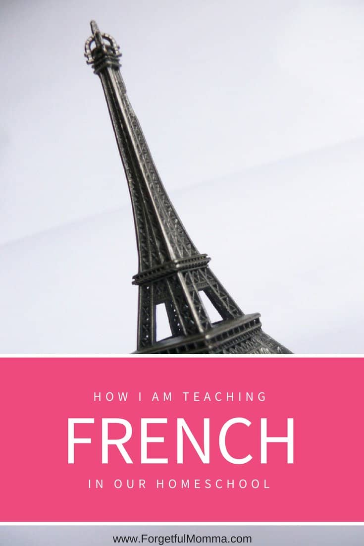 Learning French at Home – Homeschooling