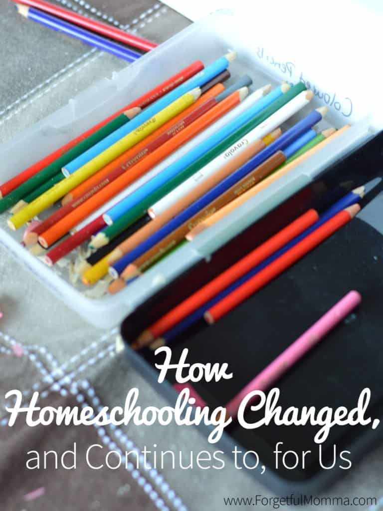 How Homeschooling Changes, and Continues To