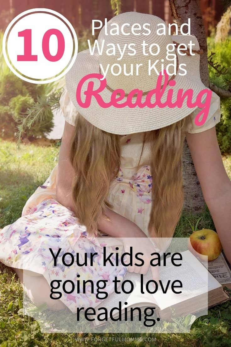 10 Places to Get Your Kids Reading More
