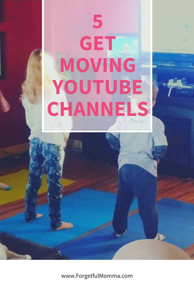 Our 5 Favorite Get Moving YouTube Channels