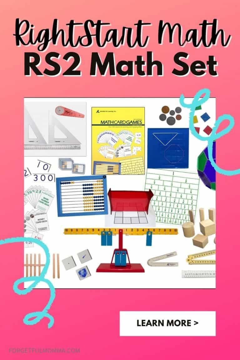 RightStart Math – RS2 Math Set