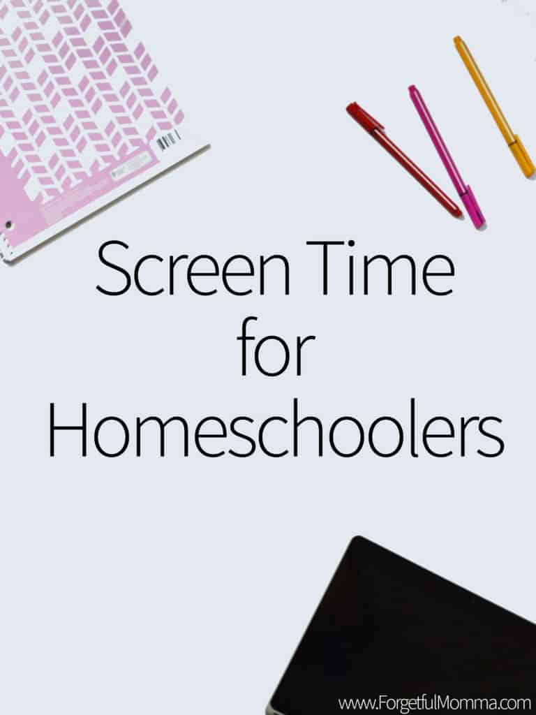 Using Screen Time for Homeschoolers
