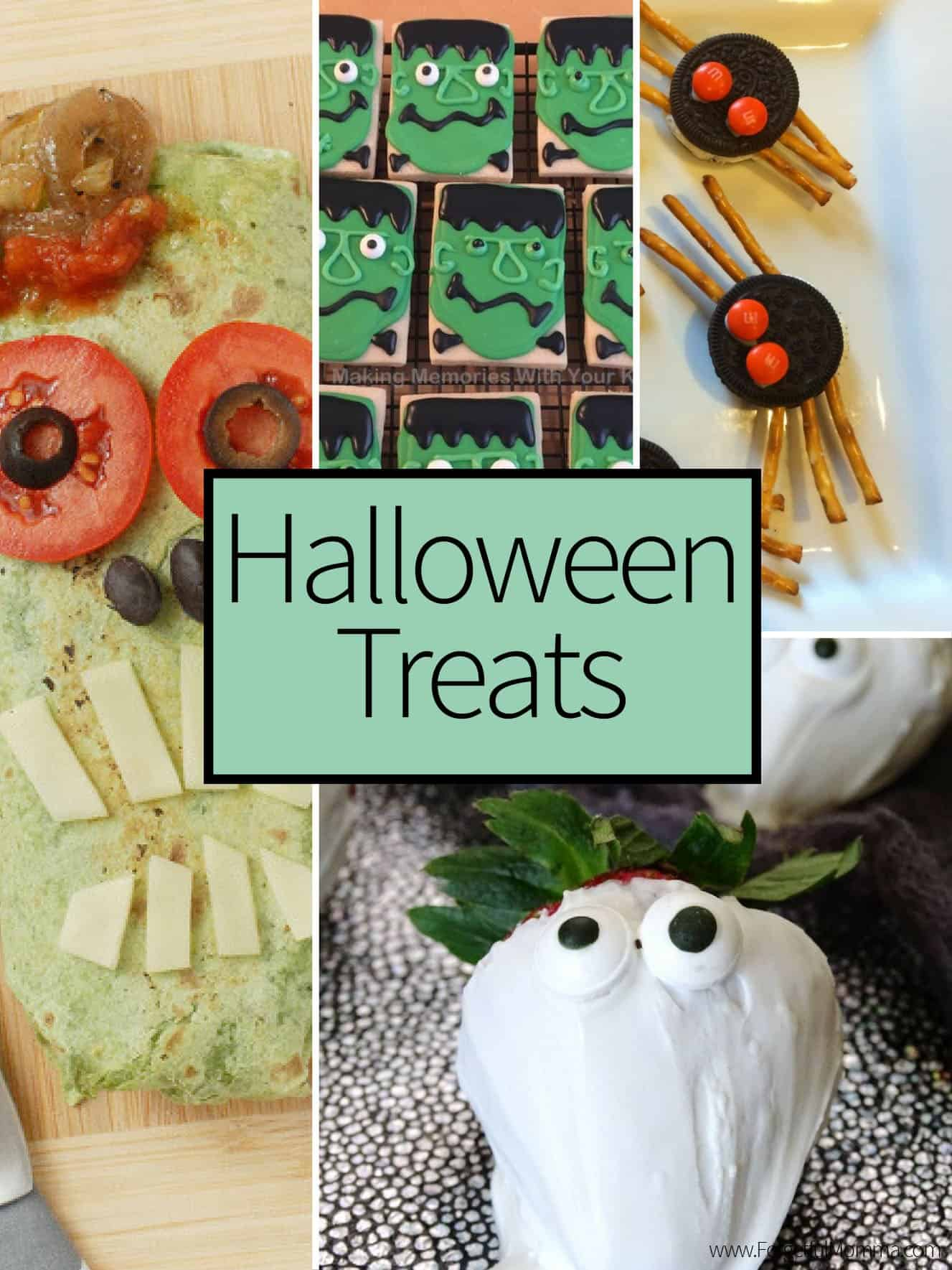 Halloween Treats - Recipe Round Up