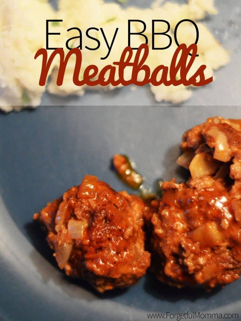Easy Slow Cooker BBQ Meatballs