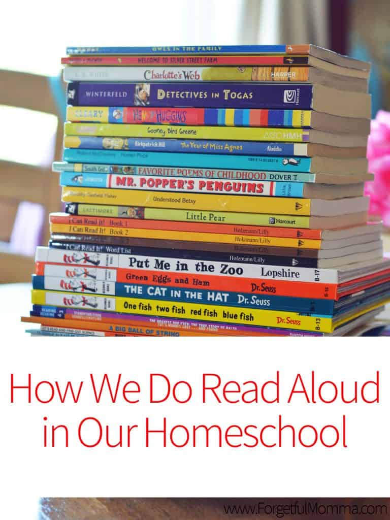 How We Do Read Aloud in Our Homeschool