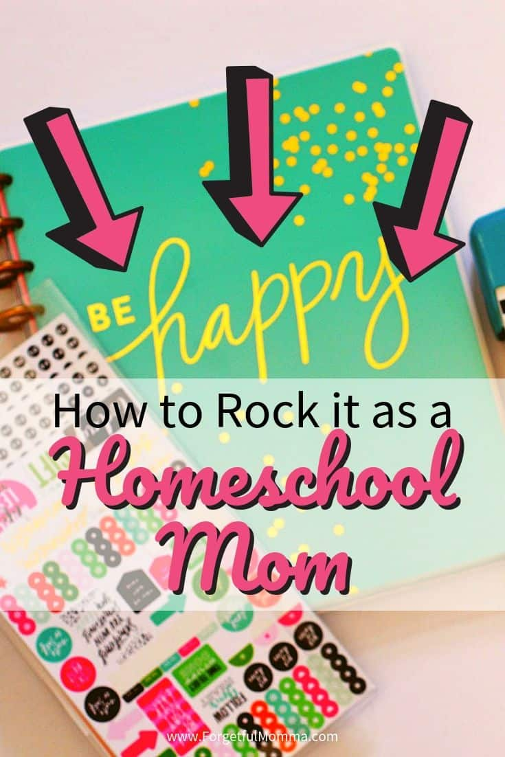 How to Rock it as A Homeschool Mom