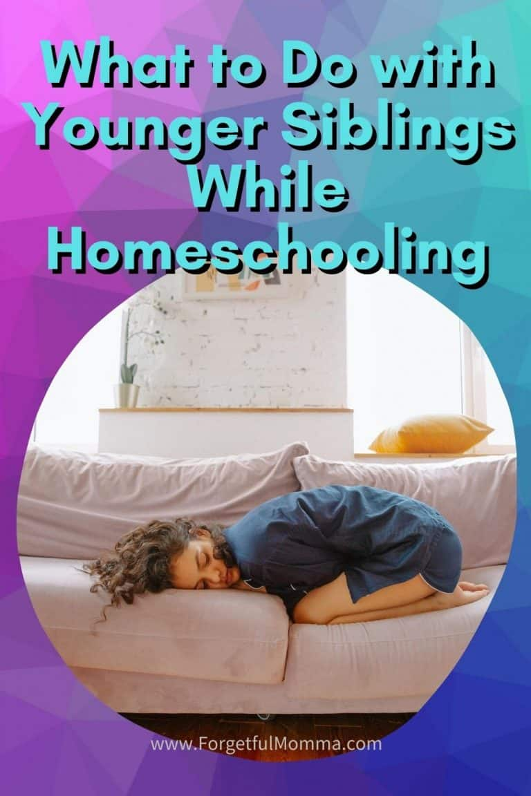 How to Do Homeschooling with Younger Siblings