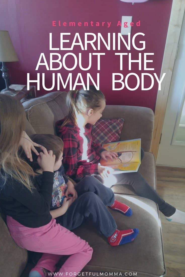 Learning About the Human Body – Elementary Ages