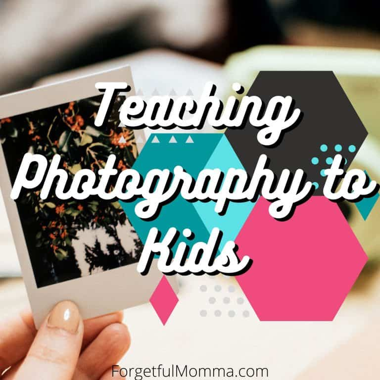 Teaching Photography in Your Homeschool