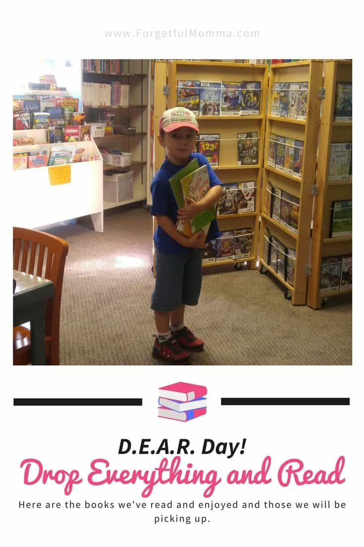 D.E.A.R. Day! Drop Everything and Read: April 12